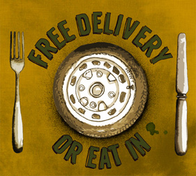 Free Delivery or Eat In